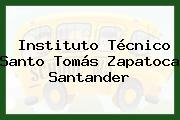 Instituto Tecnico Santo Tomas Zapatoca Santander