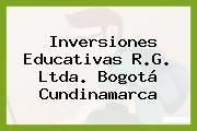 Inversiones Educativas R.G. Ltda. Bogotá Cundinamarca