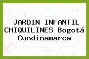 Jardin Infantil Chiquilines Bogotá Cundinamarca