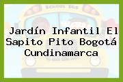 Jardín Infantil El Sapito Pito Bogotá Cundinamarca