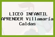 LICEO INFANTIL APRENDER Villamaría Caldas
