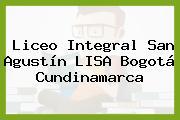 Liceo Integral San Agustín LISA Bogotá Cundinamarca