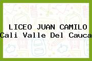 Liceo Juan Camilo Cali Valle Del Cauca