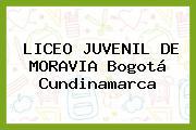 Liceo Juvenil De Moravia Bogotá Cundinamarca