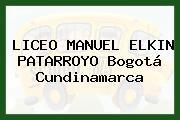 Liceo Manuel Elkin Patarroyo Bogotá Cundinamarca