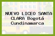 NUEVO LICEO SANTA CLARA Bogotá Cundinamarca
