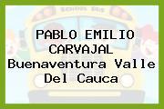 Pablo Emilio Carvajal Buenaventura Valle Del Cauca