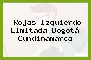 Rojas Izquierdo Limitada Bogotá Cundinamarca