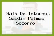 Sala De Internet Saidin Palmas Socorro