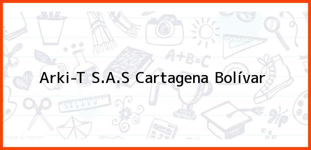 Teléfono, Dirección y otros datos de contacto para Arki-T S.A.S, Cartagena, Bolívar, Colombia
