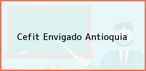 Teléfono, Dirección y otros datos de contacto para Cefit, Envigado, Antioquia, Colombia