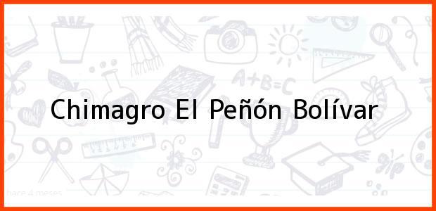 Teléfono, Dirección y otros datos de contacto para Chimagro, El Peñón, Bolívar, Colombia