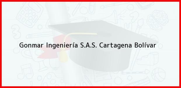 Teléfono, Dirección y otros datos de contacto para Gonmar Ingeniería S.A.S., Cartagena, Bolívar, Colombia