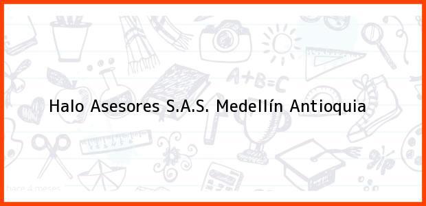 Teléfono, Dirección y otros datos de contacto para Halo Asesores S.A.S., Medellín, Antioquia, Colombia