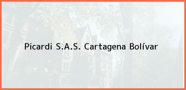 Teléfono, Dirección y otros datos de contacto para Picardi S.A.S., Cartagena, Bolívar, Colombia
