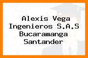 Alexis Vega Ingenieros S.A.S Bucaramanga Santander