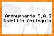 Aranyananda S.A.S Medellín Antioquia