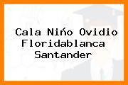 Cala Niño Ovidio Floridablanca Santander