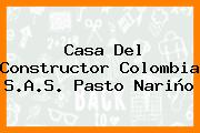 Casa Del Constructor Colombia S.A.S. Pasto Nariño