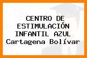 Centro De Estimulación Infantil Azul Cartagena Bolívar