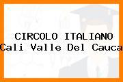 CIRCOLO ITALIANO Cali Valle Del Cauca