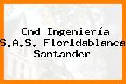 Cnd Ingeniería S.A.S. Floridablanca Santander