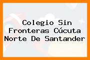 Colegio Sin Fronteras Cúcuta Norte De Santander