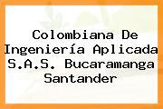 Colombiana De Ingeniería Aplicada S.A.S. Bucaramanga Santander