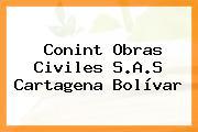 Conint Obras Civiles S.A.S Cartagena Bolívar