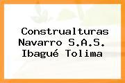 Construalturas Navarro S.A.S. Ibagué Tolima