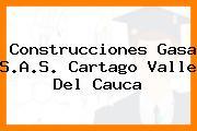 Construcciones Gasa S.A.S. Cartago Valle Del Cauca
