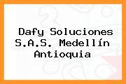Dafy Soluciones S.A.S. Medellín Antioquia