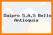 Daipro S.A.S Bello Antioquia