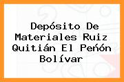 Depósito De Materiales Ruiz Quitián El Peñón Bolívar