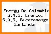 Energy De Colombia S.A.S. Enercol S.A.S. Bucaramanga Santander