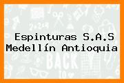 Espinturas S.A.S Medellín Antioquia