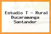 Estudio T - Rural Bucaramanga Santander