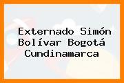 Externado Simón Bolívar Bogotá Cundinamarca