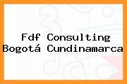 Fdf Consulting Bogotá Cundinamarca