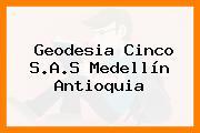 Geodesia Cinco S.A.S Medellín Antioquia