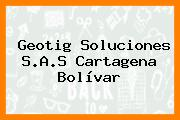 Geotig Soluciones S.A.S Cartagena Bolívar