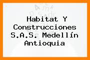 Habitat Y Construcciones S.A.S. Medellín Antioquia