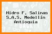 Hidro F. Salinas S.A.S. Medellín Antioquia