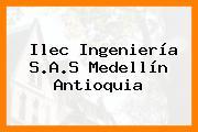 Ilec Ingeniería S.A.S Medellín Antioquia