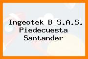 Ingeotek B S.A.S. Piedecuesta Santander