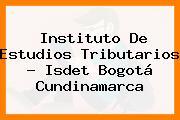 Instituto De Estudios Tributarios - Isdet Bogotá Cundinamarca