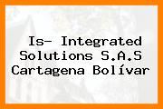 Is- Integrated Solutions S.A.S Cartagena Bolívar