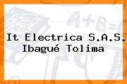 It Electrica S.A.S. Ibagué Tolima