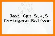 Jaxi Cgp S.A.S Cartagena Bolívar