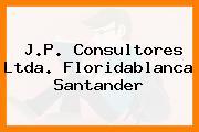 J.P. Consultores Ltda. Floridablanca Santander
